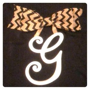 Home Decor.  Letter G.  Wall Sign.